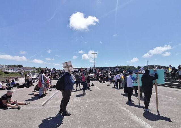 Protests in Cornwall