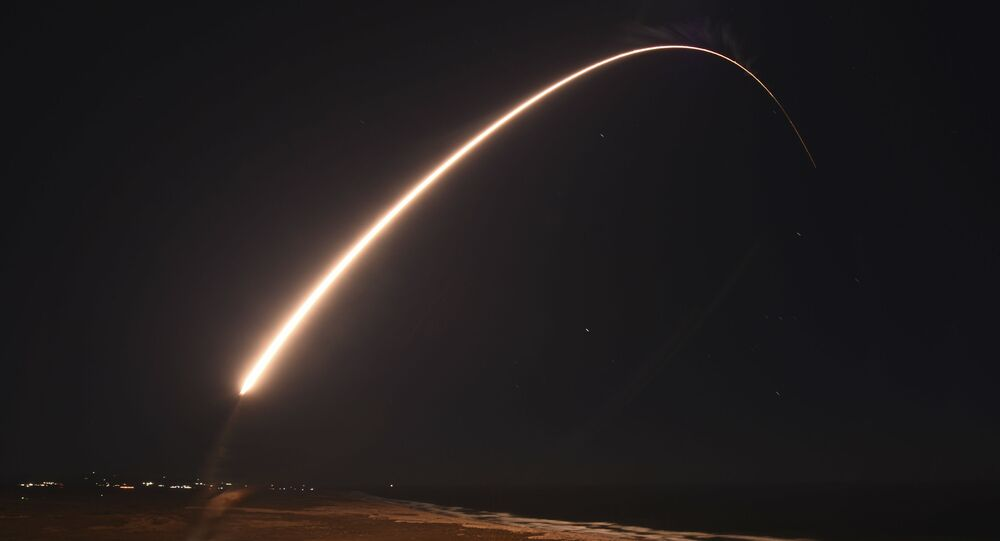 In this Feb. 23, 2021, file photo released by the U.S. Army Space and Missile Defense Command, an unarmed Minuteman 3 intercontinental ballistic missile launches during an operation test at Vandenberg Air Force Base, Calif.