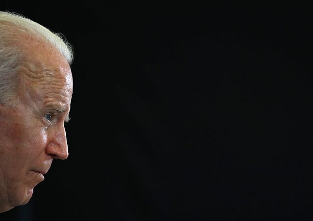 US President Joe Biden takes part in a press conference on the final day of the G7 summit at Cornwall Airport Newquay, near Newquay, Cornwall on June 13, 2021. (