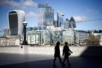 FILE PHOTO: The City of London financial district in Britain, March 19, 2021. REUTERS/Henry Nicholls/File Photo
