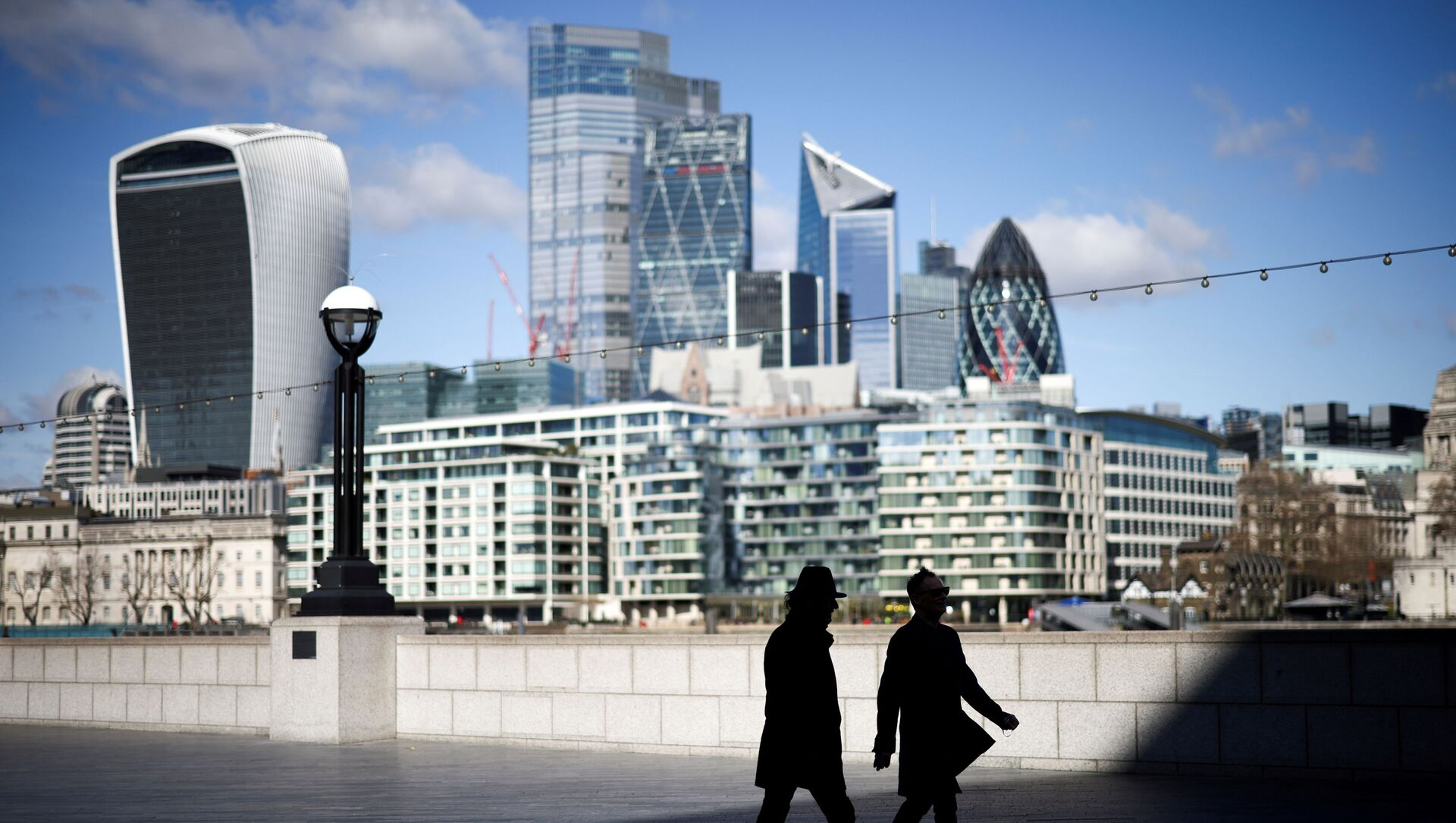 FILE PHOTO: The City of London financial district in Britain, March 19, 2021. REUTERS/Henry Nicholls/File Photo - Sputnik International, 1920, 25.07.2021