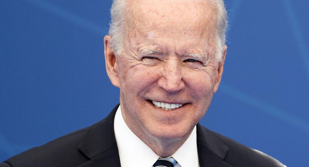 U.S. President Joe Biden attends the NATO summit at the Alliance's headquarters, in Brussels, Belgium, June 14, 2021