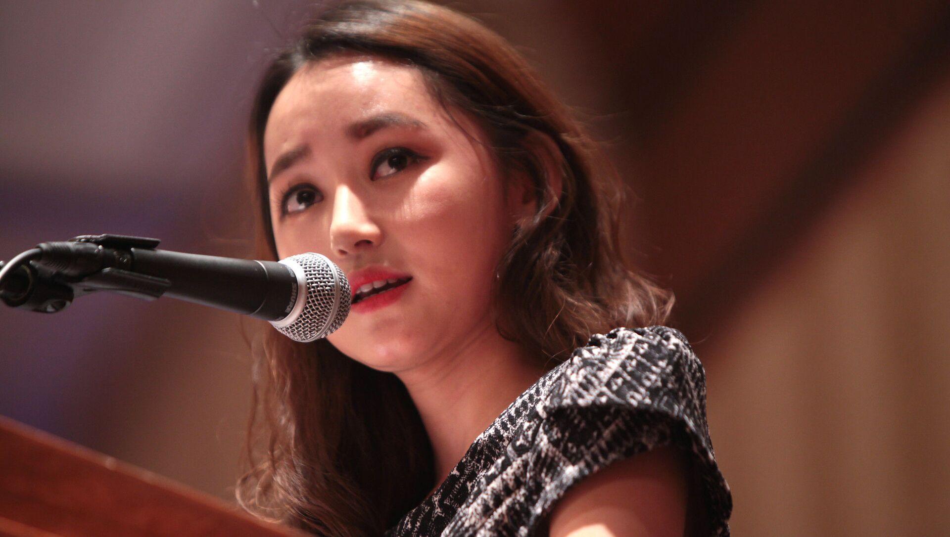 Yeon-mi Park speaking at the 2015 International Students for Liberty Conference at the Marriott Wardman Park Hotel in Washington, D.C. - Sputnik International, 1920, 15.06.2021