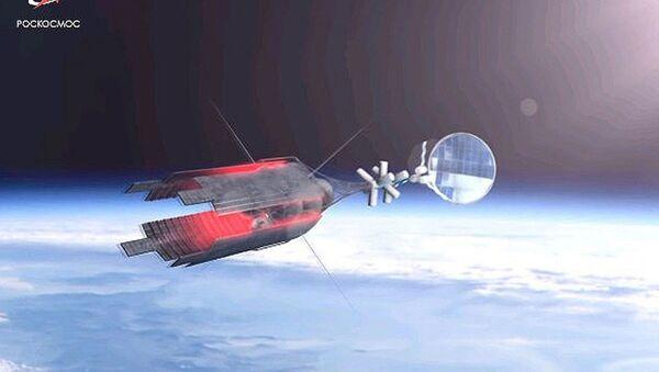 Zeus Nuclear-Powered Tug   - Sputnik International