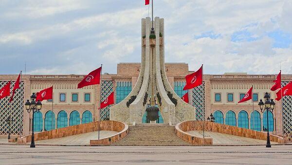 Tunisia monument flags - Sputnik International