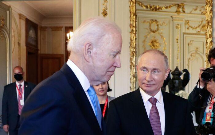 Russian President Vladimir Putin and US President Joe Biden Meet in Geneva