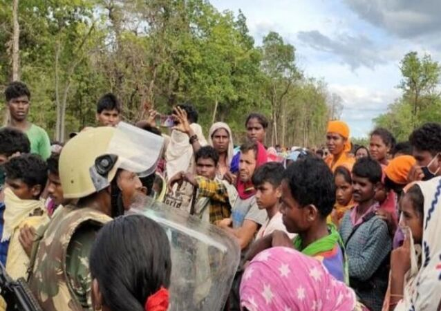 Tribal Villagers in Chhattisgarh Continue Month-Long Protest Against India's Security Forces