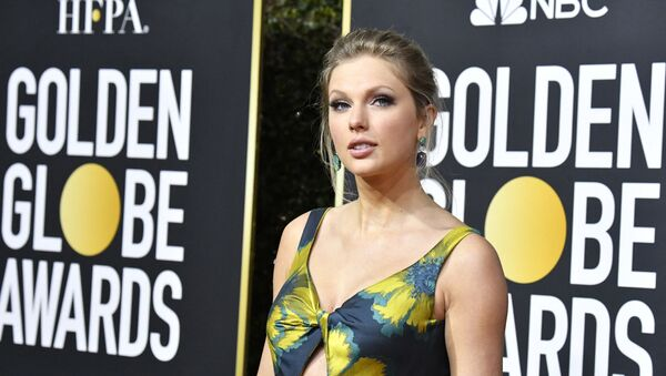 Taylor Swift attends the 77th Annual Golden Globe Awards at The Beverly Hilton Hotel on January 05, 2020 in Beverly Hills, California.   - Sputnik International