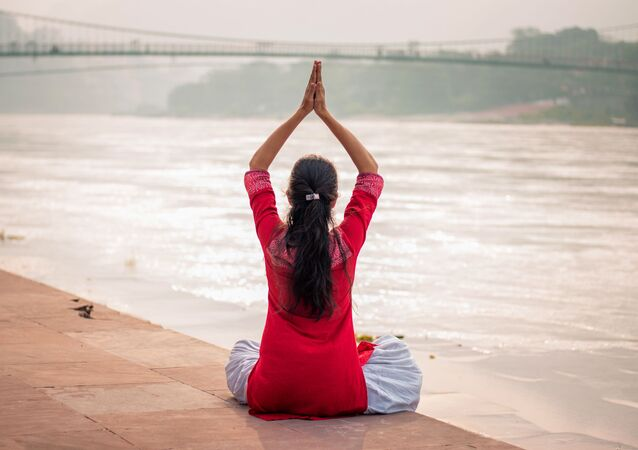 Offering Prayers To the Elements of Nature Is Part of Performing Yoga
