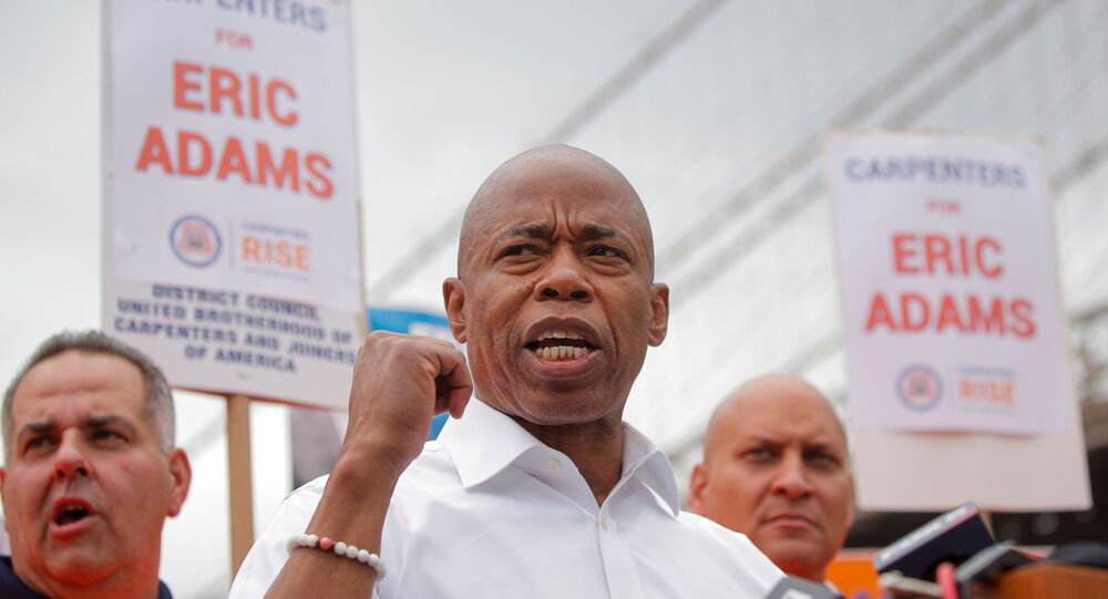 Eric Adams Leads In The New York City Mayoral Democratic Primary