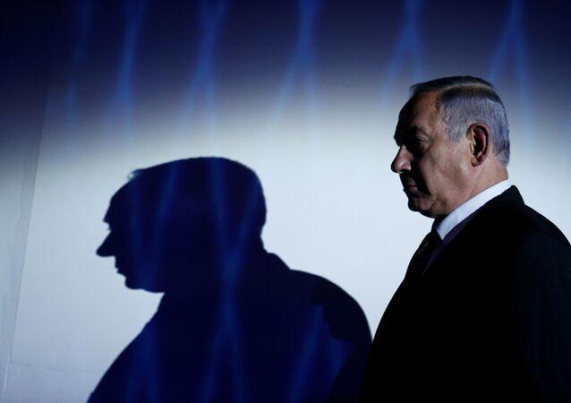 FILE PHOTO: Israeli Prime Minister Benjamin Netanyahu is seen during the the 2016 Genesis Prize award-ceremony in Jerusalem, June 23, 2016.