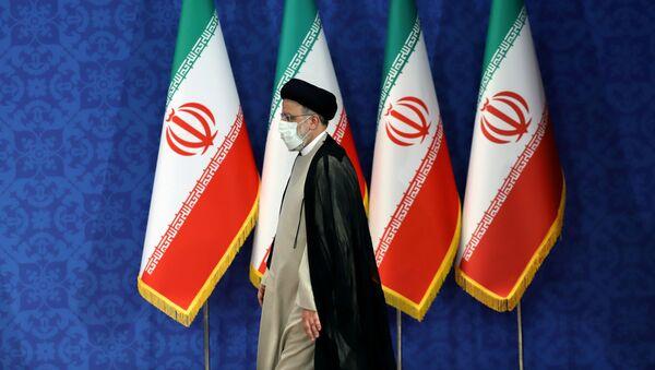Iran's President-elect Ebrahim Raisi attends a news conference in Tehran, Iran June 21, 2021. Majid Asgaripour/WANA (West Asia News Agency) via REUTERS  - Sputnik International