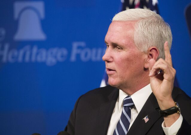 Vice President Mike Pence speaks about the US-Mexico-Canada trade agreement at the Heritage Foundation, Tuesday, 17 September 2019, in Washington.
