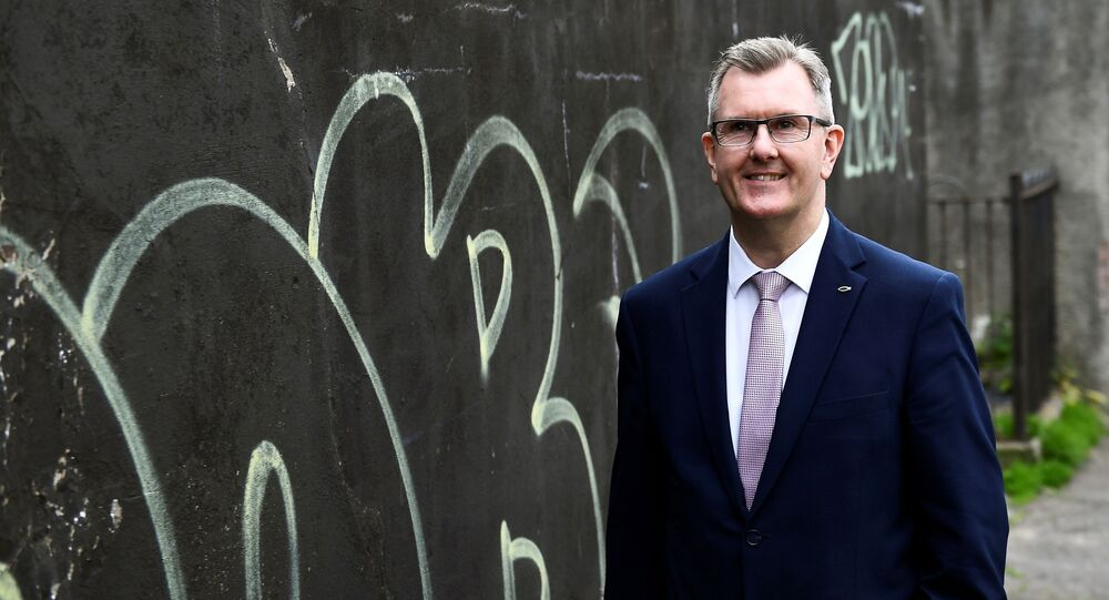 Jeffrey Donaldson, who became leader of the DUP on 22 June 2021