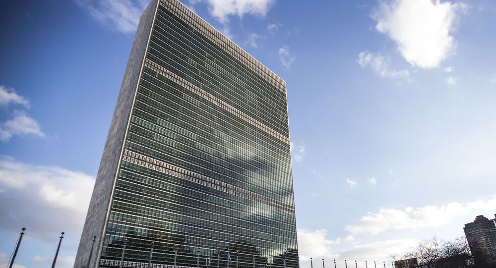 United Nations (UN) headquarters in New York.