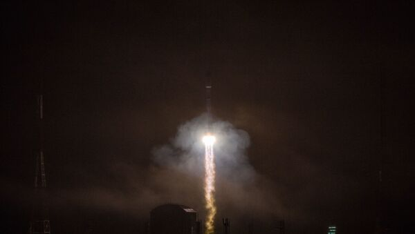 Launch of the Soyuz-2.1b carrier rocket with the Fregat upper stage and 36 new OneWeb spacecraft as part of mission 47 from the Vostochny cosmodrome. - Sputnik International