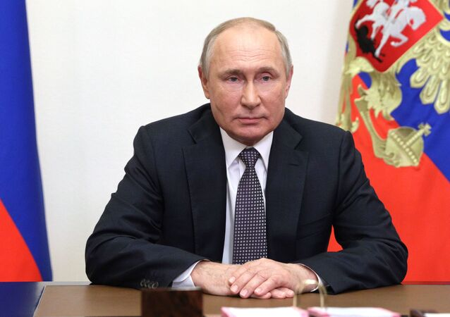 Russian President V. Putin addressed the participants of the IX Moscow Conference on International Security