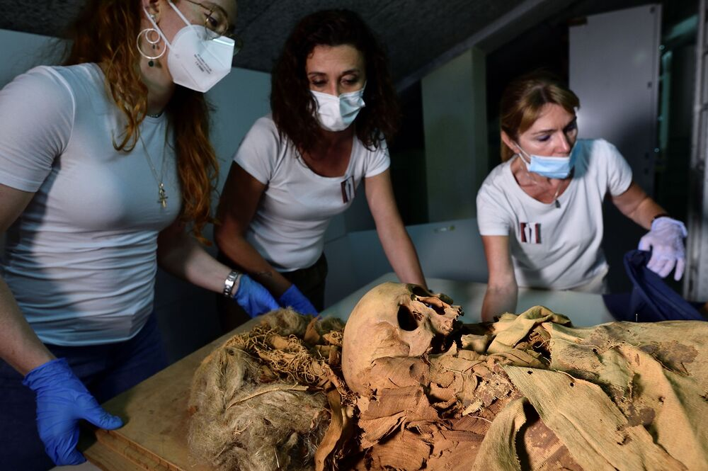 A group of researches are planning to reconstruct the life and death of the priest.