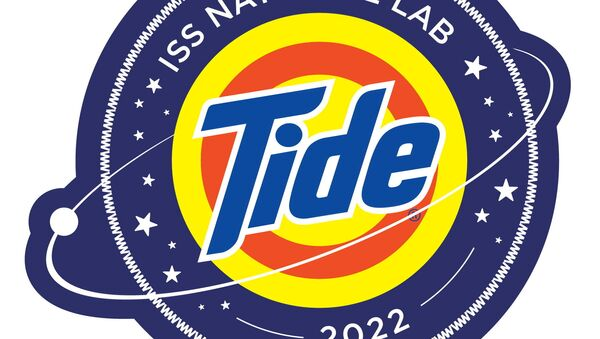 The logo for the NASA Tide detergent that will be tested in space - Sputnik International