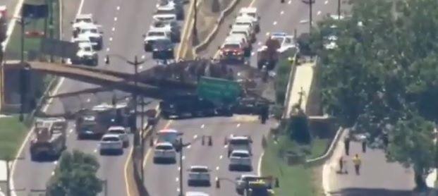 Bridge collapses in DC