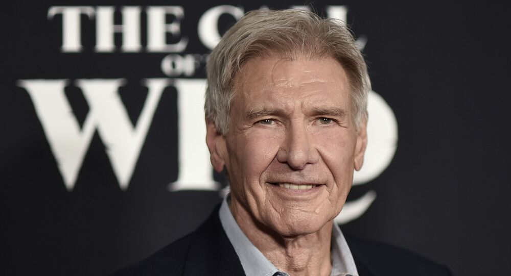 Harrison Ford attends the premiere of The Call of the Wild at El Capitan Theatre on Thursday, Feb. 13, 2020, in Los Angeles.