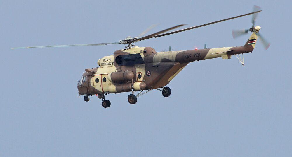 Mil Mi-171E 'KAF 1101' Kenya Air Force