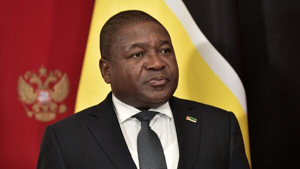 Mozambique's President Filipe Nyusi attends a signing ceremony following the talks with Russia's President Vladimir Putin in Moscow, Russia August 22, 2019. - Sputnik International