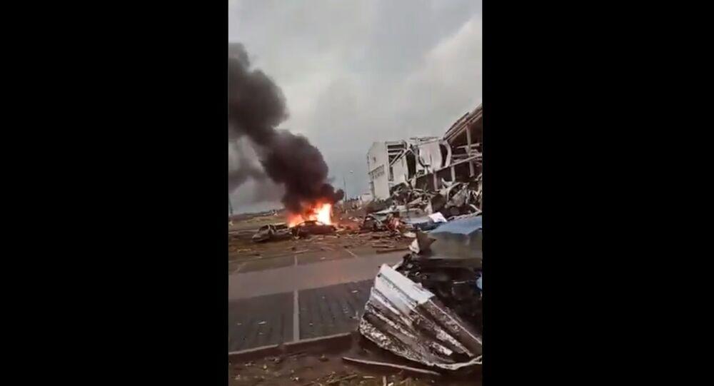 A powerful tornado hit the southeastern part of the Czech Republic on 24 June, 2021