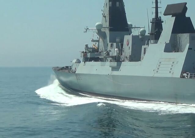 Russia Britain Warship Incident