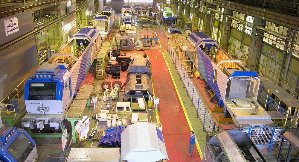 Wagon Pars manufacturing company in Arak
