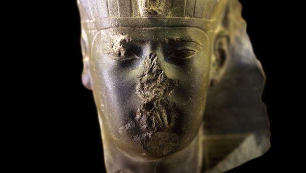 Head of an Egyptian king, presumably Apries or Amasis II - Sputnik International