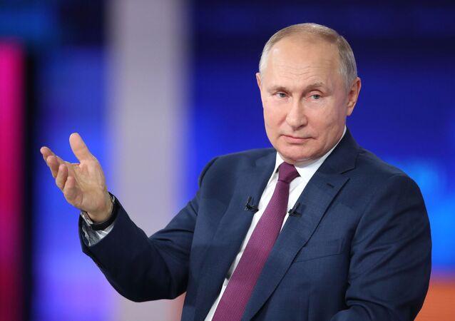 Russia Putin Direct Line