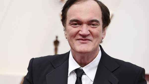 Quentin Tarantino arrives at the Oscars on Sunday, Feb. 9, 2020, at the Dolby Theatre in Los Angeles - Sputnik International