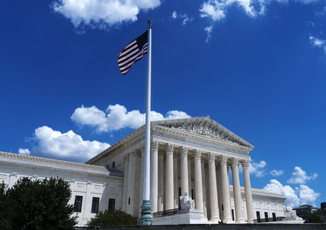 The US Supreme Court is seen on Capitol Hill in Washington, Wednesday, June 30, 2021