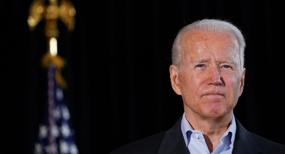 U.S. President Joe Biden gestures as he delivers remarks after speaking to family members whose loved ones died or are missing after the building collapse in Surfside in Miami, Florida U.S., July 1, 2021