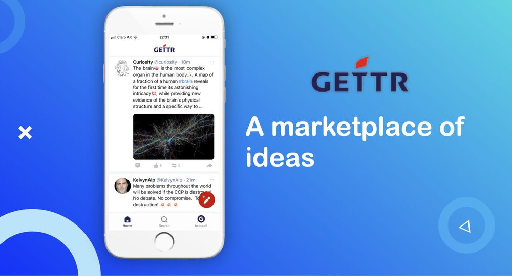 Gettr website