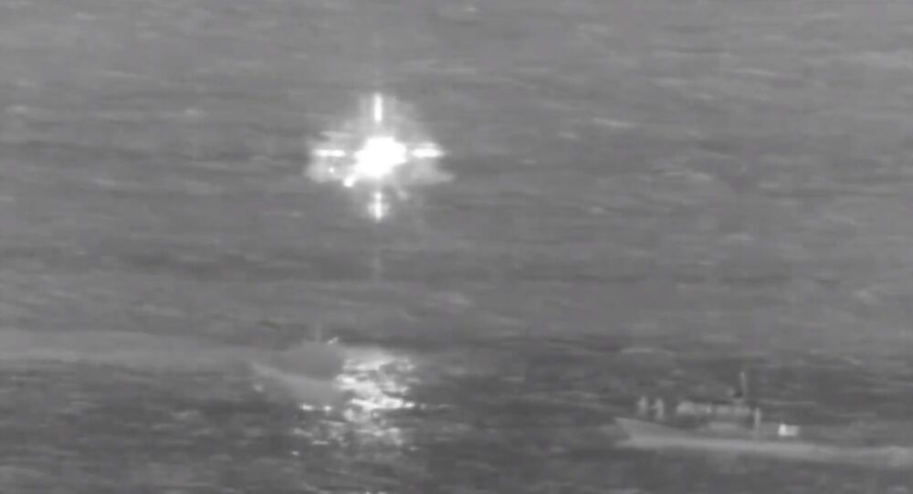 The USCG and Honolulu Fire Department rescued two people from a downed Boeing 737