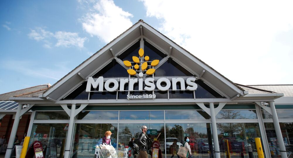 A Morrisons store is pictured in St. Albans, Britain, 10 September 2020