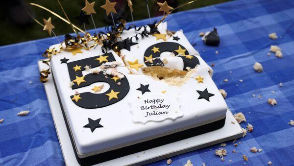 Activists Celebrate Julian Assange's 50th Birthday in London - Sputnik International