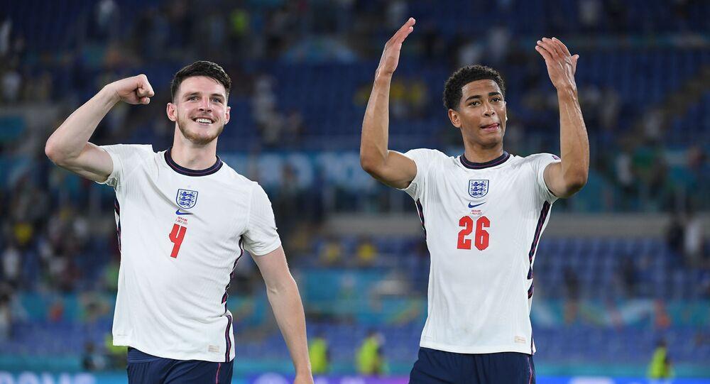 Soccer Football - Euro 2020 - Quarter Final - Ukraine v England - Stadio Olimpico, Rome, Italy - July 3, 2021