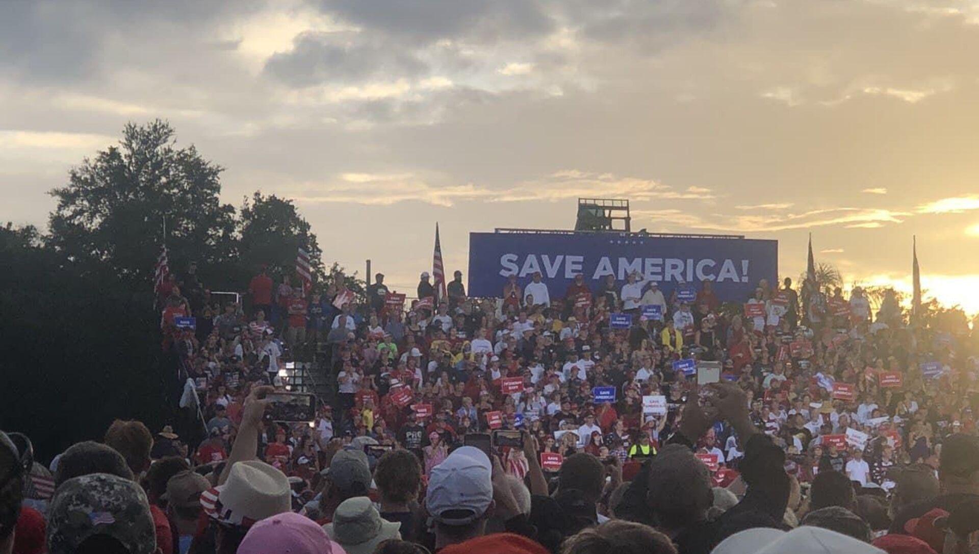 Donald Trump's  'Save America' campaign-style rally in Sarasota, Florida, 3 June, 2021 - Sputnik International, 1920, 04.07.2021