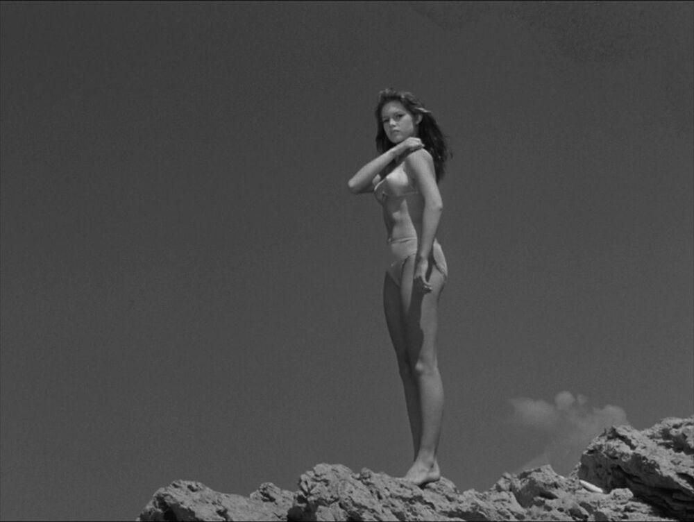 Back in the day, when the bikini had just caught on. Manina, the Girl in the Bikini, 1952.