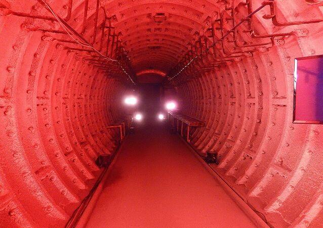 Inside Barnton Quarry Bunker