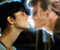 A kissing scene from the film Ghost, 1990.