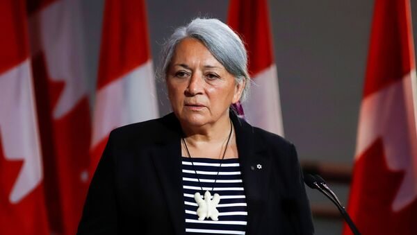 Mary Simon attends a news conference where she is announced as the next Governor General of Canada - Sputnik International
