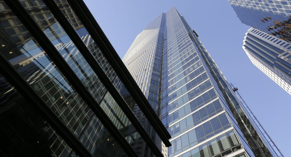 This Sept. 26, 2016 file photo shows the Millennium Tower in San Francisco. San Francisco building officials have issued another violation against the sinking Millennium Tower after city-ordered inspection crews found another cracked window. KNTV of San Jose reported Tuesday, Oct. 23, 2018, the latest cracked window was found during an inspection last week. The television station first reported a window cracked unexpectedly on the 36th floor of the troubled high-rise over Labor Day. (AP Photo/Eric Risberg, File)
