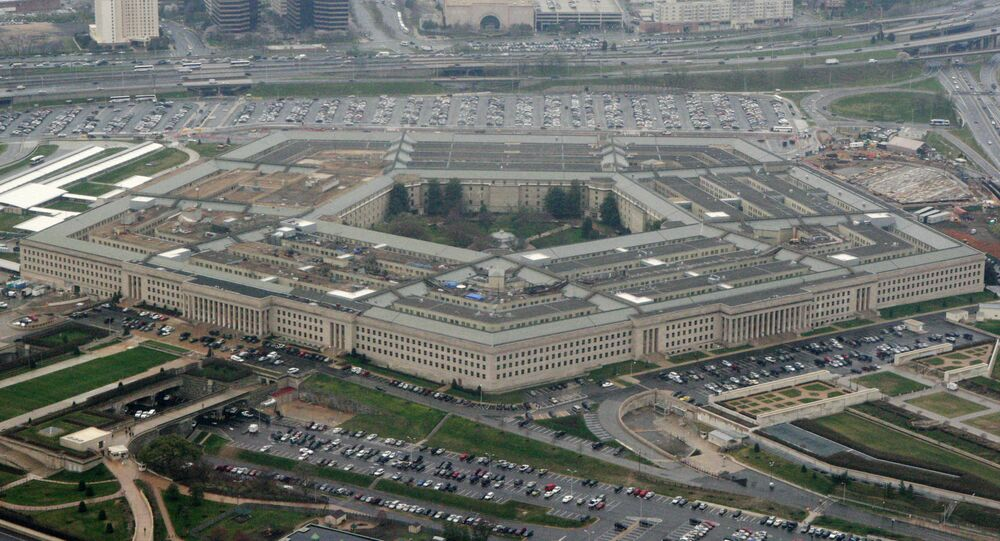 This March 27, 2008, file photo, shows the Pentagon in Washington. The Pentagon said Tuesday, July 6, 2021, that it is canceling a cloud-computing contract with Microsoft that could eventually have been worth $10 billion and will instead pursue a deal with both Microsoft and Amazon. (AP Photo/Charles Dharapak, File)