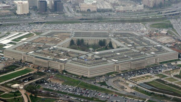 This March 27, 2008, file photo, shows the Pentagon in Washington. The Pentagon said Tuesday, July 6, 2021, that it is canceling a cloud-computing contract with Microsoft that could eventually have been worth $10 billion and will instead pursue a deal with both Microsoft and Amazon. (AP Photo/Charles Dharapak, File) - Sputnik International