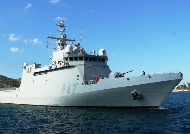 Spanish patrol vessel Rayo (P-42)