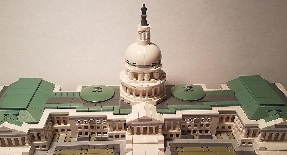 Lego Architecture US Capitol